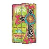 "Blossom Bucket Decorative ""Hope"" Cross Box Sign"