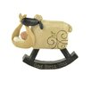 Blossom Bucket Decorative God Bless You Rocking Sheep Figurine with Baby