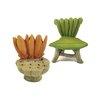 Blossom Bucket 2 Piece Decorative Leaf Chair Set