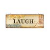"Blossom Bucket Decorative ""Live Laugh Love"" Wall Sign with LED Light"