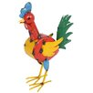 La Hacienda Steel Roy the Rooster Figurine