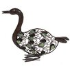 La Hacienda Steel Sitting Duck Figurine