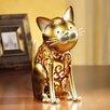 "DecoFlair Figurine Cat Luminary 9.06"" H Table Lamp"