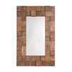 Selections by Chaumont Textured Design Palma Functional Mirror