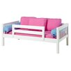 Maxtrix Kids YEAH Slat Daybed with Back and Front Guard Rails