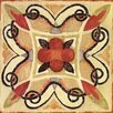 Evive Designs Bohemian Rooster Tile Square I by Daphne Brissonnet Painting Print