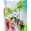 Evive Designs Color Me Pretty Orchids by Lana Moes Painting Print on Canvas