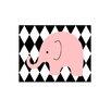 Evive Designs Elephant Harlequin Paper Print