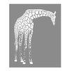 <strong>Evive Designs</strong> Giraffe Paper Print