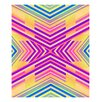 Evive Designs Neon Boho Tribal Geometric by Evie Alessandria Graphic Art