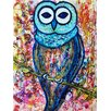 <strong>'Owl' by Deborah Argyropoulos Painting Print</strong> by Evive Designs