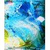 Evive Designs 'Waterfall' by Deborah Argyropoulos Painting Print