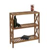 OSP Designs Hayden 3 Level Folding Shelf