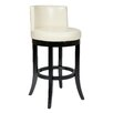 "OSP Designs Metro Bonded Leather 30"" Swivel Bar Stool"