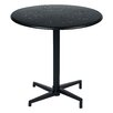 "OSP Designs Oxton 30"" Round Folding Table"