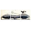 Artefx Decor Whale Tail Triptych 3 Piece Painting Print on Canvas Set