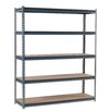 "Edsal-Sandusky Heavy Duty Modular 16-Gauge Boltless 72"" H 5 Shelf Shelving Unit"