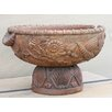 Timbergirl Vintage Hand-Carved Wooden Bowl