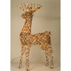 <strong>Sterling Inc.</strong> Animated Grapevine Standing Deer Christmas Decoration