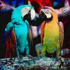 "Salty & Sweet ""Parrot Friends"" Canvas Art"