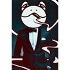 "Salty & Sweet ""Mr. Frog"" Graphic Art on Canvas"