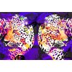 "Salty & Sweet ""Leopard Skin"" Graphic Art on Canvas"