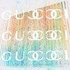 Fluorescent Palace Champagne Shower Remix Graphic Art on Canvas