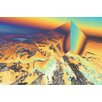Crush Collective 'Alps Perspective' Graphic Art on Canvas
