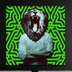 "Crush Collective ""Heart Of A Lion"" Canvas Art"