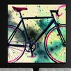 "Crush Collective ""Space Bike Reverse"" Canvas Art"