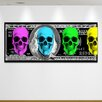 "Crush Collective ""Skeleton Cash"" Canvas Art"