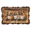 "ORE Furniture ""The Last Supper"" 3-D Plaque Wall Décor"