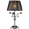 "ORE Furniture Crystal Rose 28"" H Table Lamp with Empire Shade"
