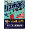 <strong>Red Hot Lemon</strong> Garage Service and Repair Wall Art