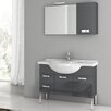"ACF Bathroom Vanities Phinex 39"" Single Bathroom Vanity Set with Mirror"