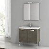 """ACF Bathroom Vanities City Play 30"""" Vanity Set with Single Sink"""