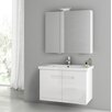 "ACF Bathroom Vanities New York 32"" Bathroom Vanity Set with Single Sink"
