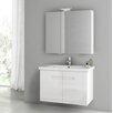 """ACF Bathroom Vanities New York 32"""" Single Bathroom Vanity Set"""