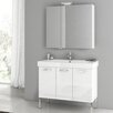 "ACF Bathroom Vanities Cubical 37"" Vanity Set"