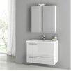"""ACF Bathroom Vanities New Space 31"""" Single Bathroom Vanity Set"""