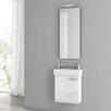"""ACF Bathroom Vanities Cubical 18"""" Vanity Set with Single Sink"""