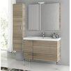 """ACF Bathroom Vanities New Space 39"""" Bathroom Vanity Set with Single Sink"""