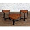 Largo 3 Piece Triangle Coffee Table Set