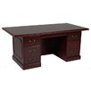 Furniture Design Group Brunswick Executive Desk with 6 Drawer