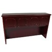 "<strong>Brunswick 42.5"" H x 71.5"" W Desk Hutch</strong> by Furniture Design Group"