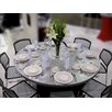 "Southern Aluminum Swirl® 60"" Round Folding Table"