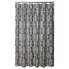 Blissliving Home Cotton Harmony Storm Shower Curtain