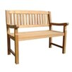 Raffles 2 Seater Bench Leblon Outdoor Design