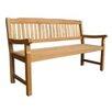 <strong>Raffles 3 Seater Bench</strong> by Leblon Outdoor Design