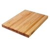 "John Boos BoosBlock Commercial 1 1/2"" Maple Cutting Board"